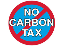 No Carbon Tax Rally