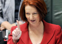 No hard questions for Gillard on Lateline