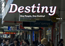 Destiny magazine, issue 8