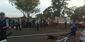 Villawood Detention Centre Protest, 2011