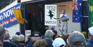 Anti-carbon Tax rally, 2010