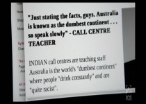 Hildebrand's anti-Australian propaganda: Dumb, junk and tasteless