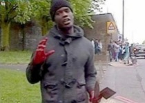 UK Muslim with machete