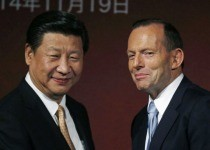 Xi Jinping and Tony Abbott