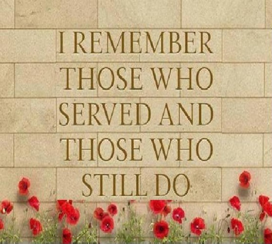 I Remember Those Who Served and Those Who Still Do