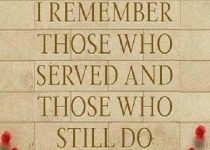 I Remember Those Who Served 210x150