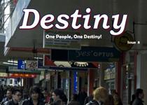 Destiny magazine, issue 8