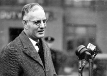 John Curtin, a national leader in time of war