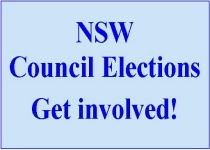 Stand up and be counted!  NSW Local Government elections, 2012